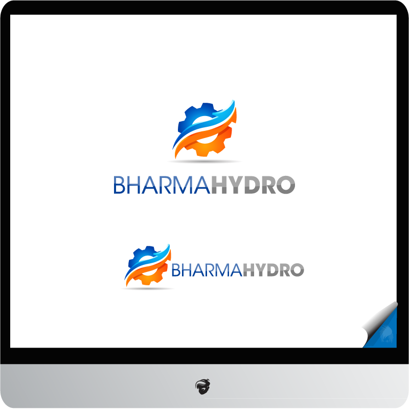 Logo Design by zesthar - Entry No. 18 in the Logo Design Contest Creative Logo Design for Bharma Hydro.