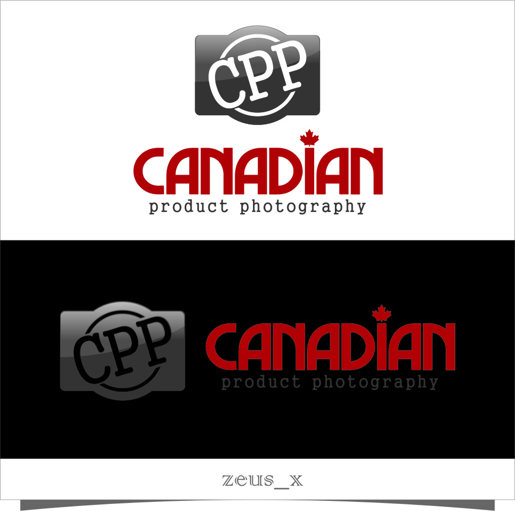 Logo Design by RasYa Muhammad Athaya - Entry No. 18 in the Logo Design Contest Artistic Logo Design for Canadian Product Photography.
