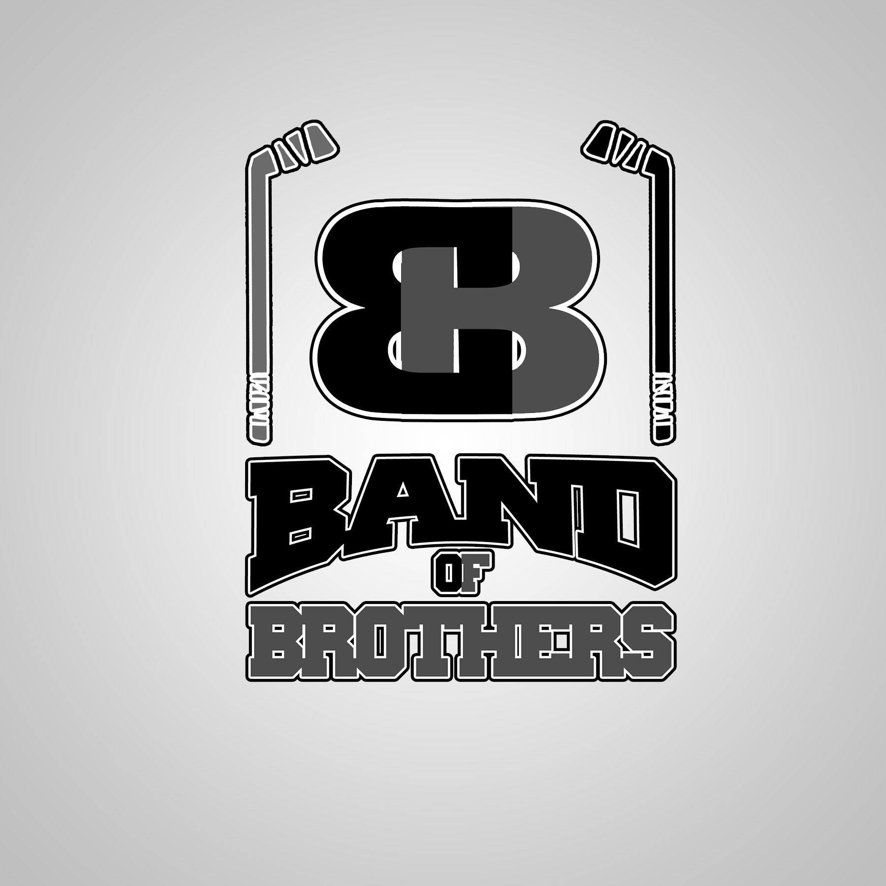 Logo Design by Lemuel Arvin Tanzo - Entry No. 10 in the Logo Design Contest Inspiring Logo Design for Band of Brothers.