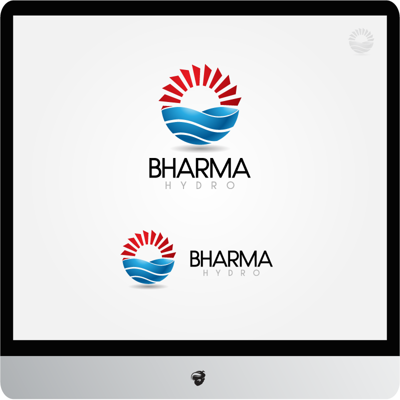 Logo Design by zesthar - Entry No. 22 in the Logo Design Contest Creative Logo Design for Bharma Hydro.