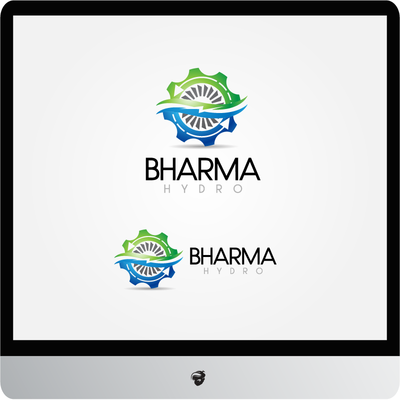 Logo Design by zesthar - Entry No. 23 in the Logo Design Contest Creative Logo Design for Bharma Hydro.
