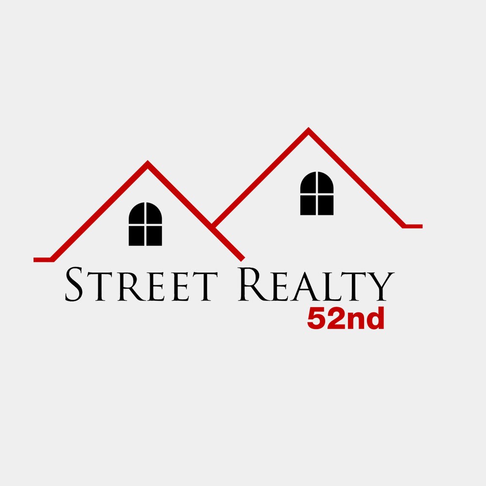 Logo Design by Bobby Yoga P - Entry No. 3 in the Logo Design Contest 52nd Street Realty Logo Design.
