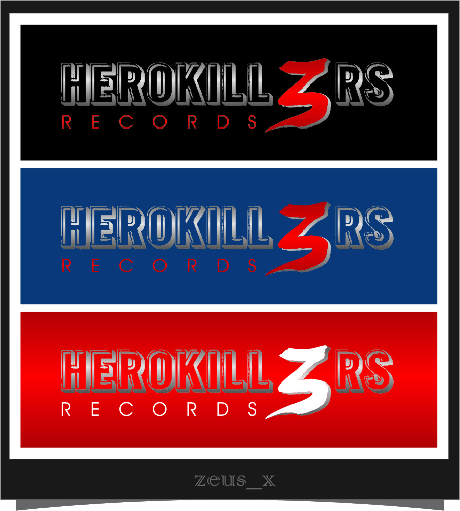 Logo Design by Ngepet_art - Entry No. 70 in the Logo Design Contest Fun Logo Design for HeroKill3rs.