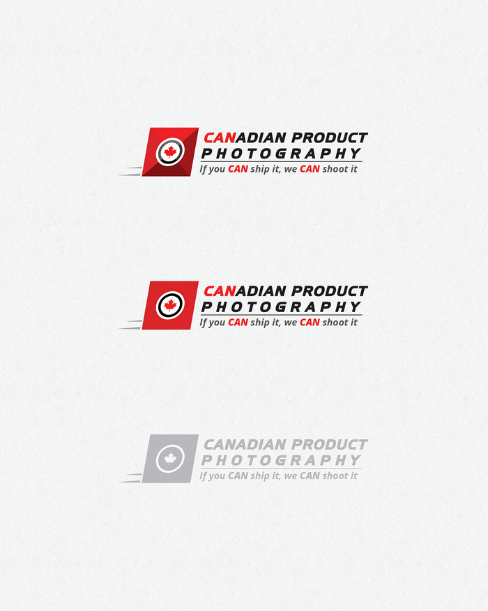 Logo Design by logotweek - Entry No. 20 in the Logo Design Contest Artistic Logo Design for Canadian Product Photography.