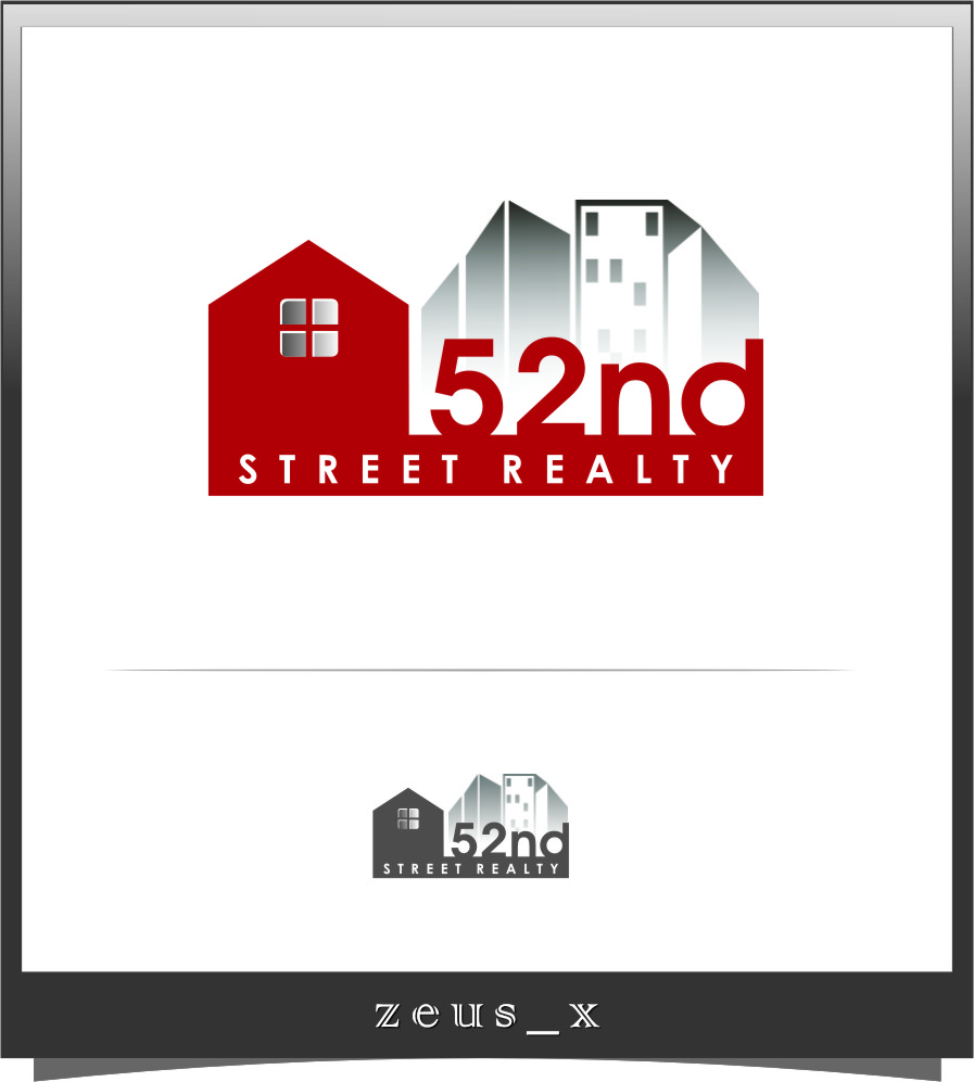Logo Design by RasYa Muhammad Athaya - Entry No. 8 in the Logo Design Contest 52nd Street Realty Logo Design.