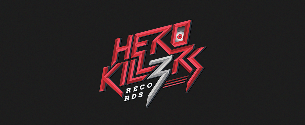 Logo Design by logotweek - Entry No. 73 in the Logo Design Contest Fun Logo Design for HeroKill3rs.