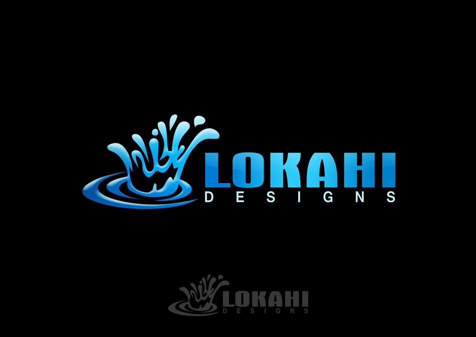 Logo Design by Respati Himawan - Entry No. 17 in the Logo Design Contest Unique Logo Design Wanted for Lokahi Designs.