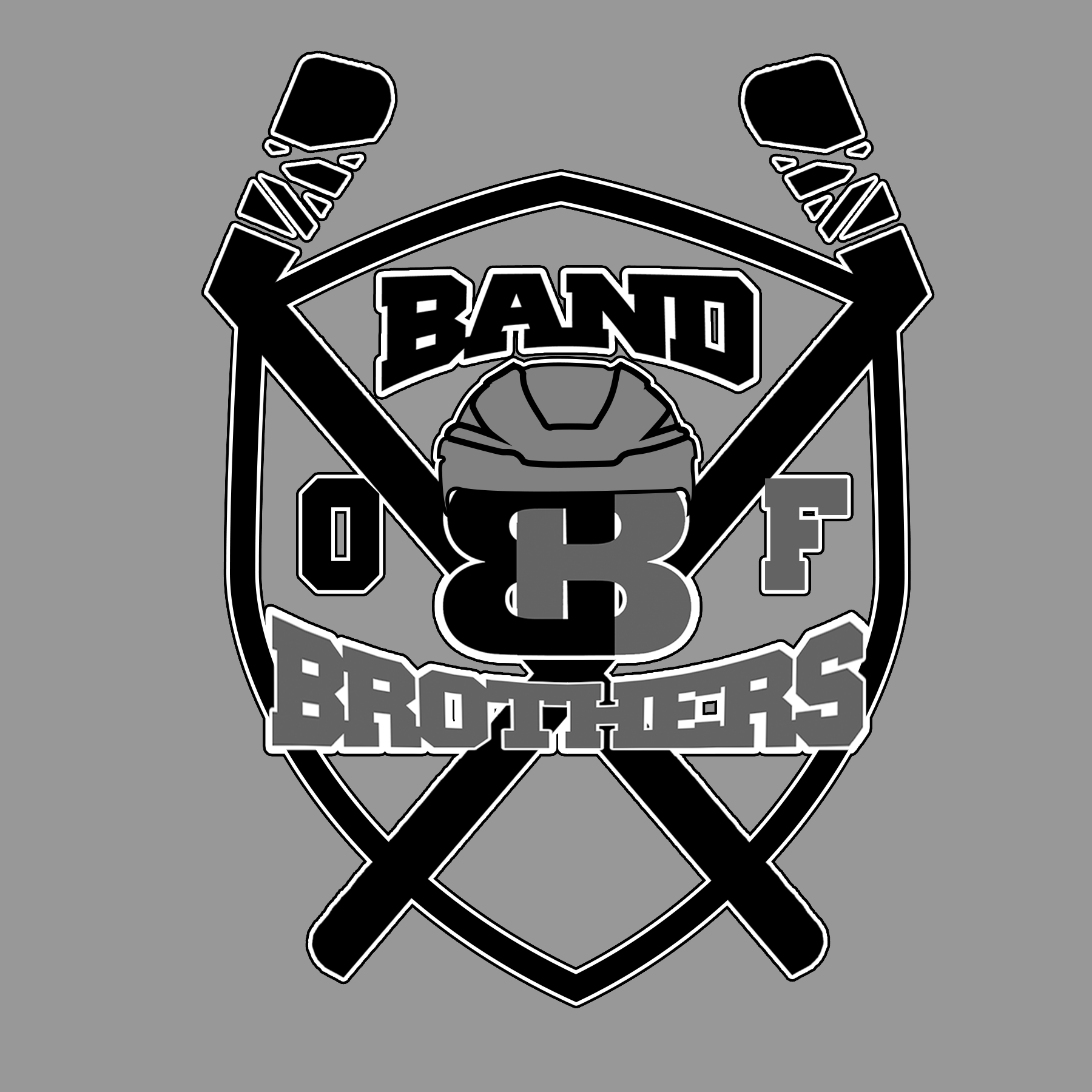 Logo Design by Lemuel Arvin Tanzo - Entry No. 13 in the Logo Design Contest Inspiring Logo Design for Band of Brothers.