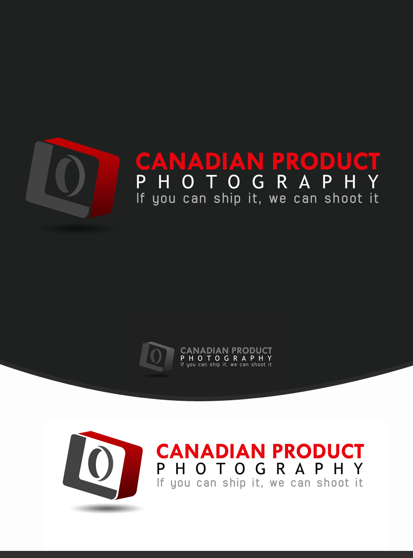 Logo Design by Private User - Entry No. 22 in the Logo Design Contest Artistic Logo Design for Canadian Product Photography.
