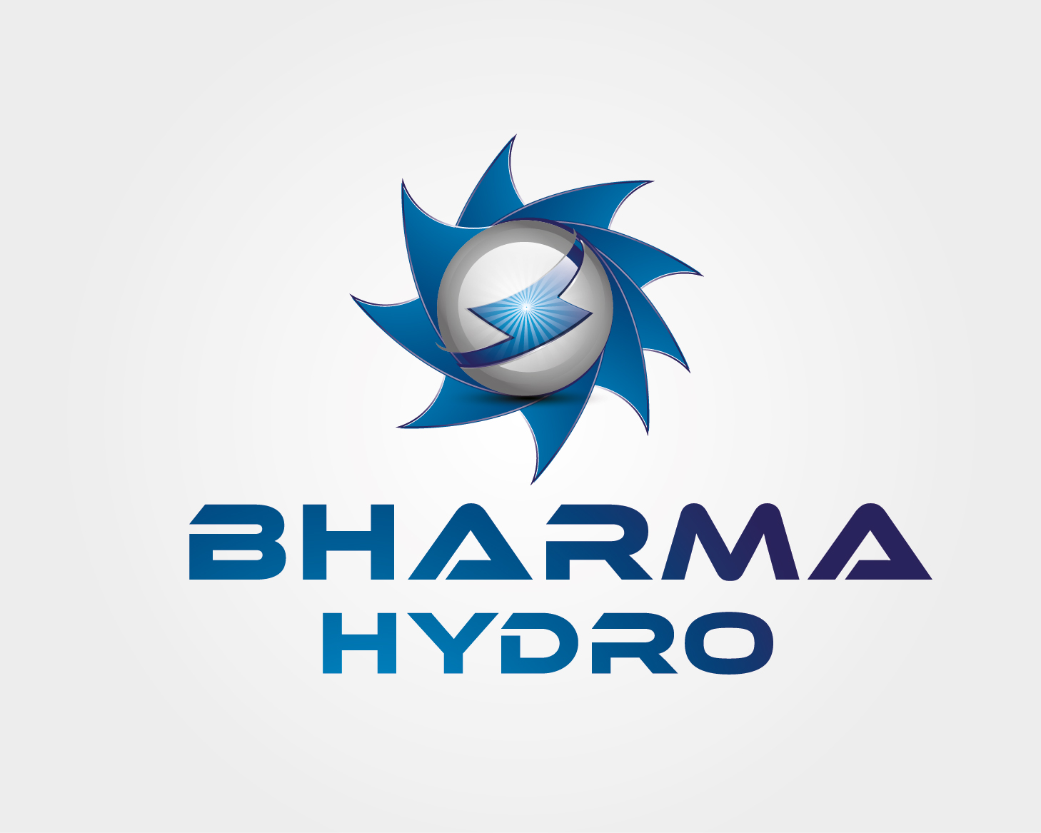 Logo Design by VENTSISLAV KOVACHEV - Entry No. 28 in the Logo Design Contest Creative Logo Design for Bharma Hydro.