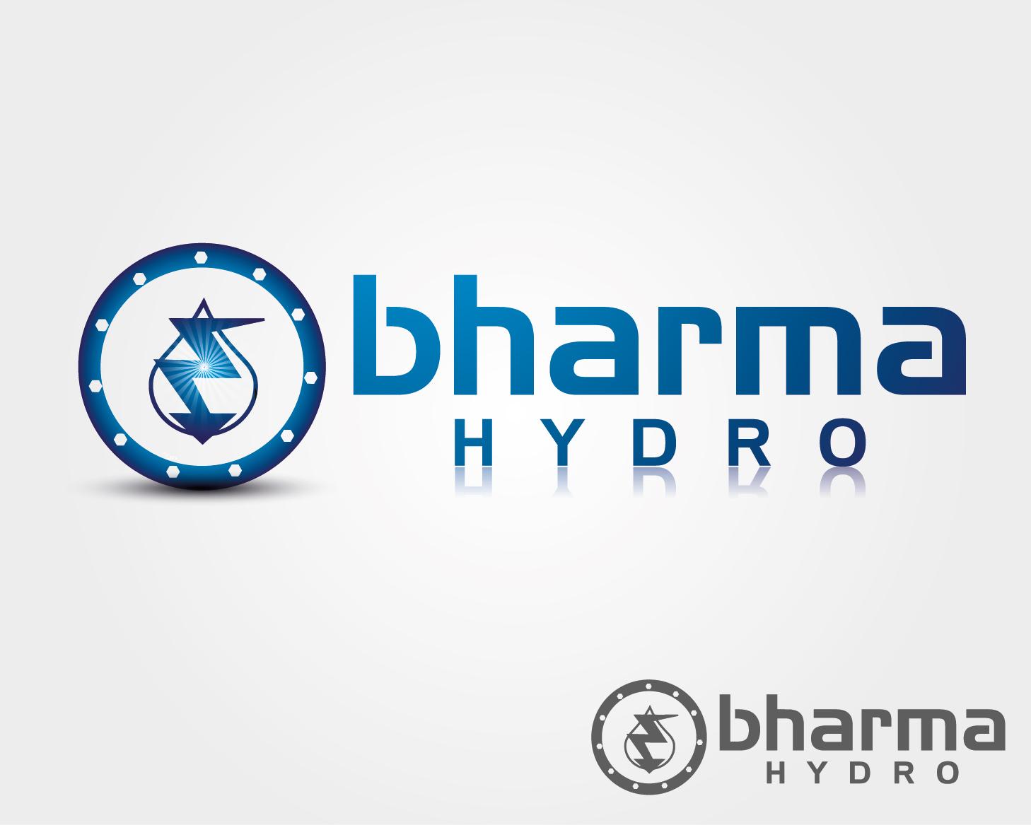 Logo Design by VENTSISLAV KOVACHEV - Entry No. 31 in the Logo Design Contest Creative Logo Design for Bharma Hydro.