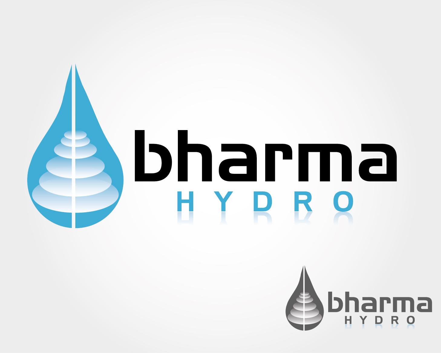 Logo Design by VENTSISLAV KOVACHEV - Entry No. 32 in the Logo Design Contest Creative Logo Design for Bharma Hydro.