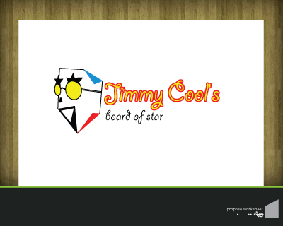 Logo Design by robbiephung - Entry No. 3 in the Logo Design Contest Jimmy Cool's.