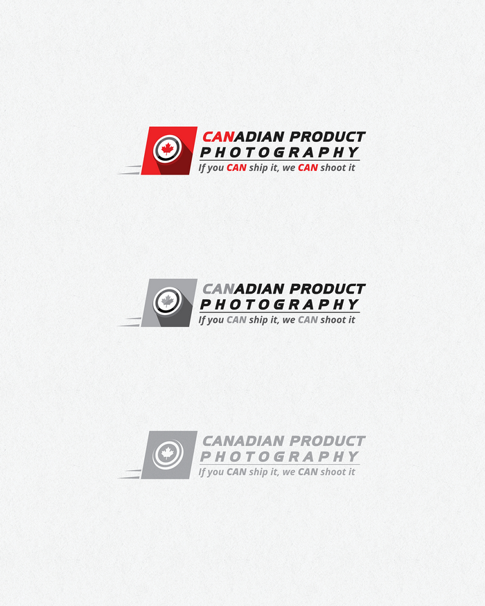 Logo Design by logotweek - Entry No. 23 in the Logo Design Contest Artistic Logo Design for Canadian Product Photography.