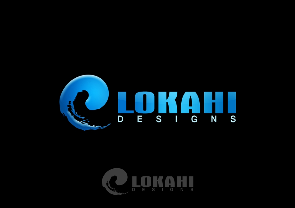 Logo Design by Respati Himawan - Entry No. 19 in the Logo Design Contest Unique Logo Design Wanted for Lokahi Designs.