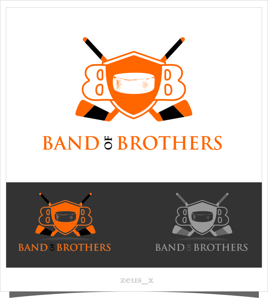 Logo Design by Ngepet_art - Entry No. 19 in the Logo Design Contest Inspiring Logo Design for Band of Brothers.