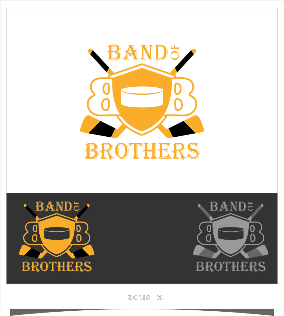 Logo Design by RasYa Muhammad Athaya - Entry No. 21 in the Logo Design Contest Inspiring Logo Design for Band of Brothers.