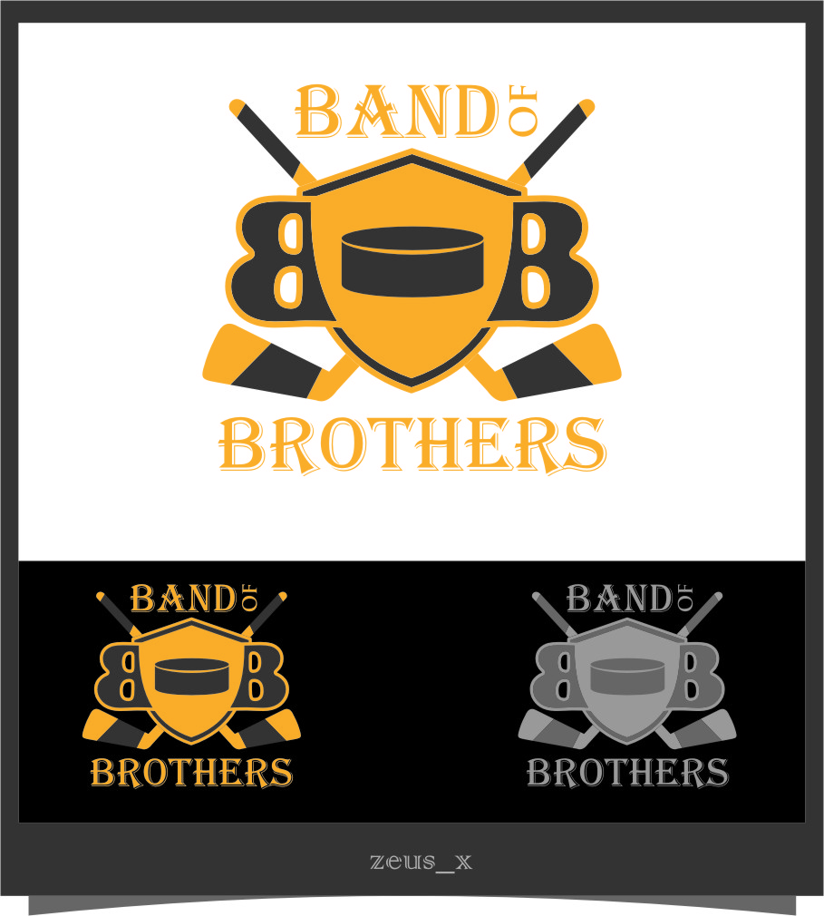 Logo Design by RasYa Muhammad Athaya - Entry No. 23 in the Logo Design Contest Inspiring Logo Design for Band of Brothers.