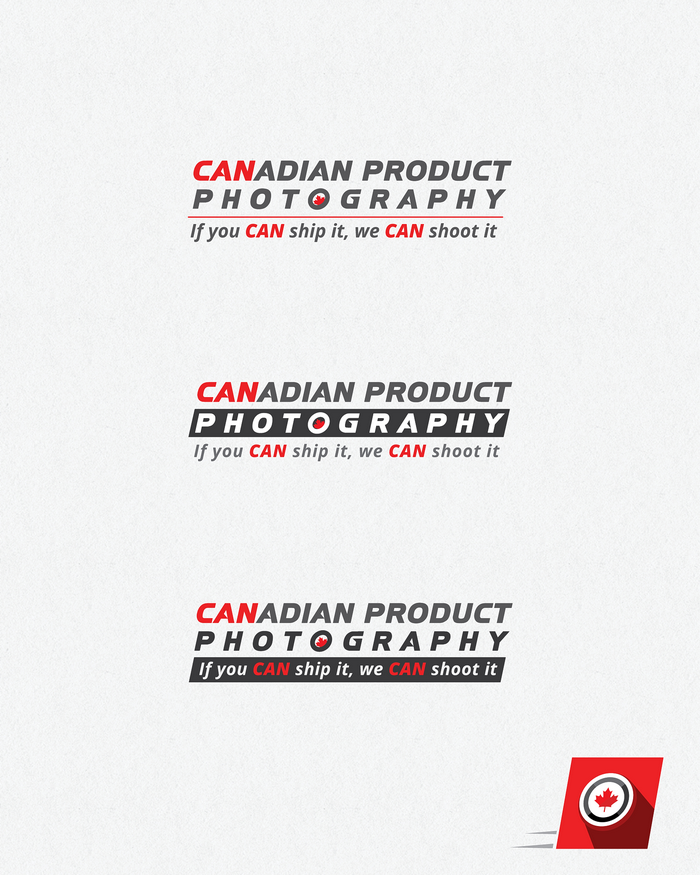 Logo Design by logotweek - Entry No. 25 in the Logo Design Contest Artistic Logo Design for Canadian Product Photography.
