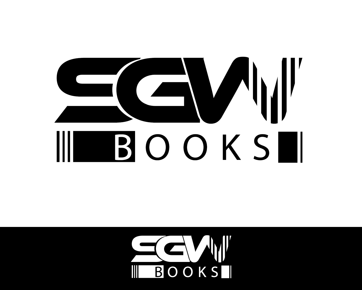 Logo Design by VENTSISLAV KOVACHEV - Entry No. 25 in the Logo Design Contest SGW Books Logo Design.