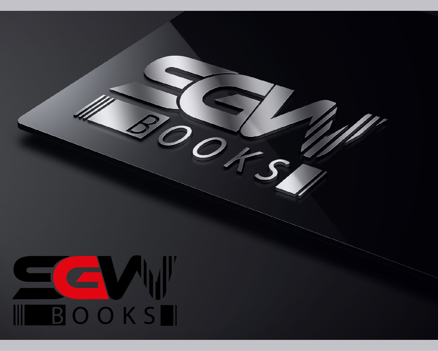 Logo Design by VENTSISLAV KOVACHEV - Entry No. 27 in the Logo Design Contest SGW Books Logo Design.