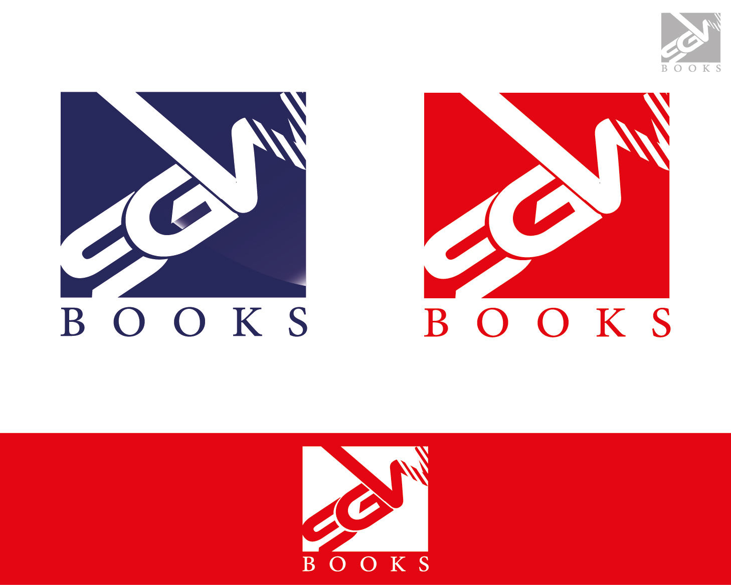 Logo Design by VENTSISLAV KOVACHEV - Entry No. 30 in the Logo Design Contest SGW Books Logo Design.
