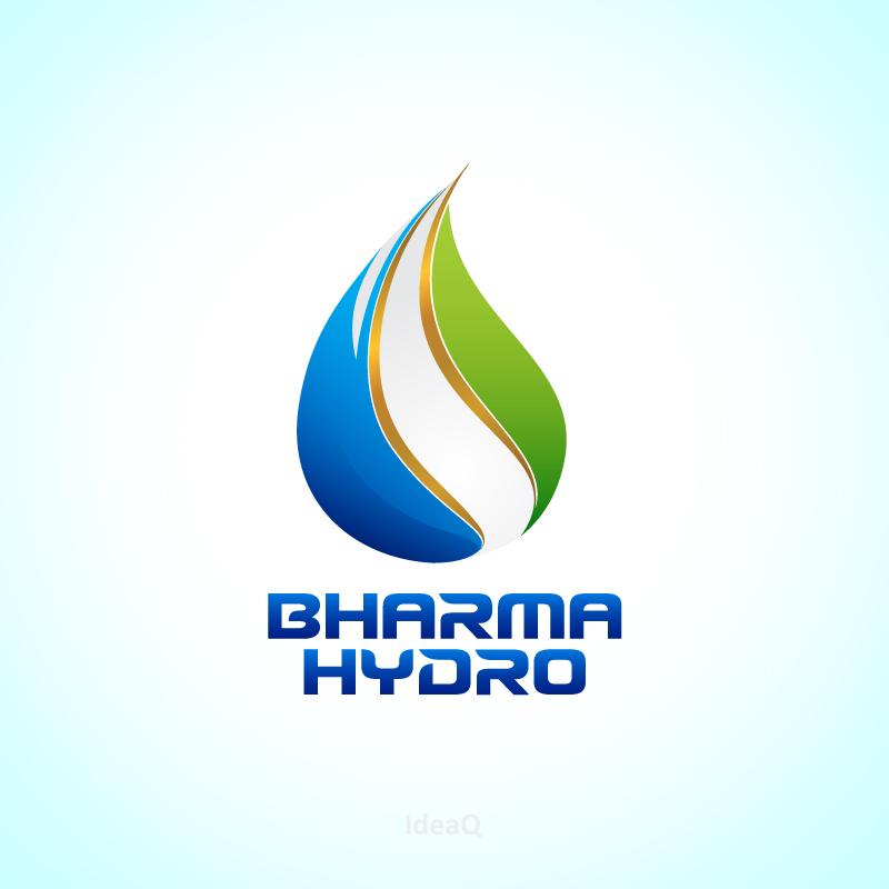 Logo Design by Private User - Entry No. 34 in the Logo Design Contest Creative Logo Design for Bharma Hydro.