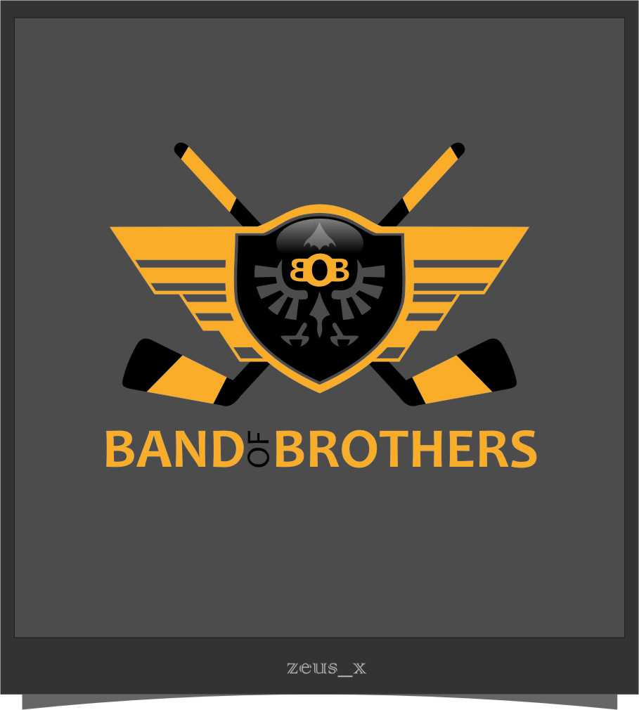 Logo Design by Ngepet_art - Entry No. 29 in the Logo Design Contest Inspiring Logo Design for Band of Brothers.