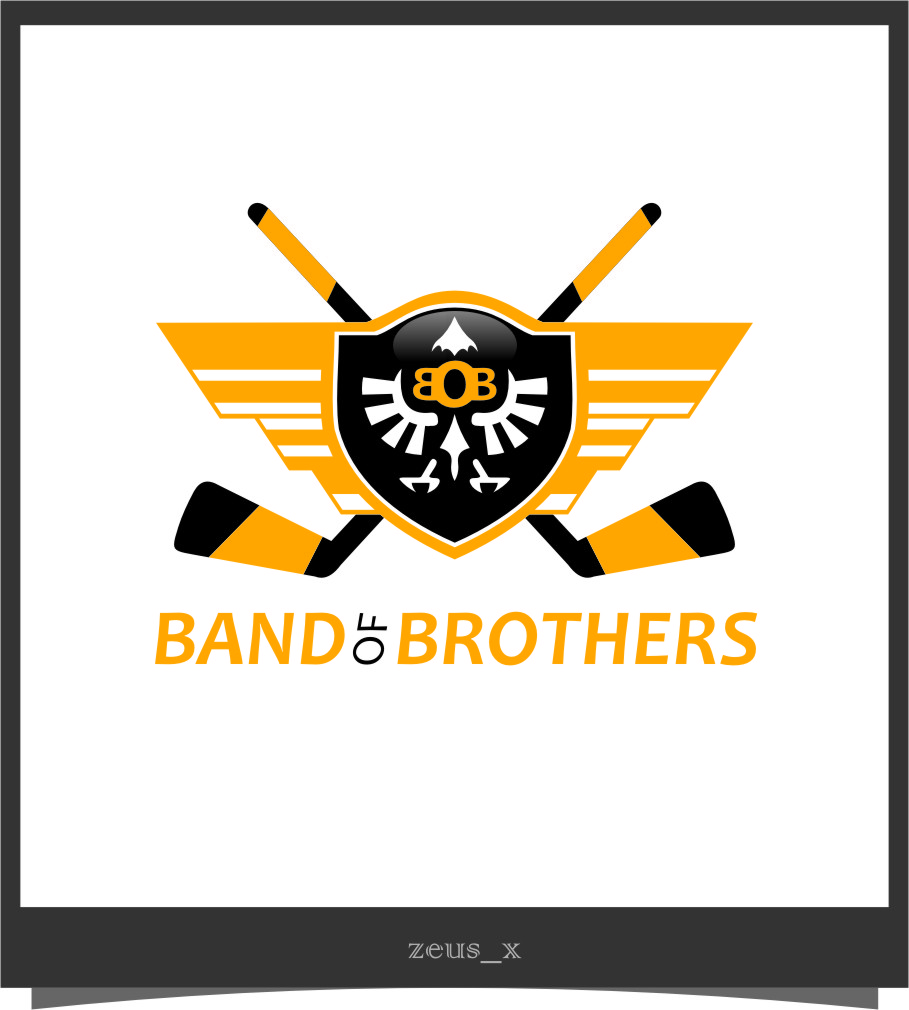 Logo Design by RasYa Muhammad Athaya - Entry No. 30 in the Logo Design Contest Inspiring Logo Design for Band of Brothers.