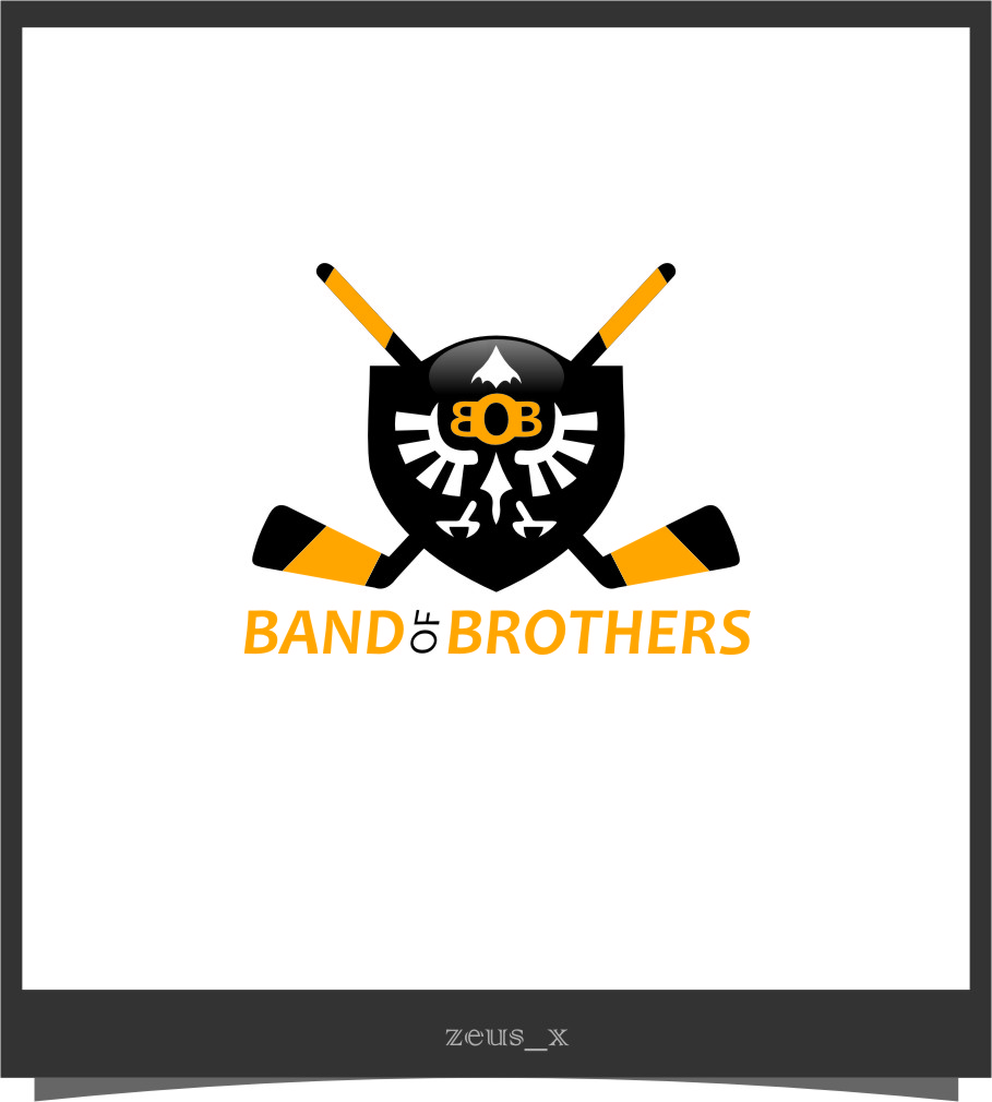 Logo Design by RoSyid Rono-Rene On Java - Entry No. 31 in the Logo Design Contest Inspiring Logo Design for Band of Brothers.