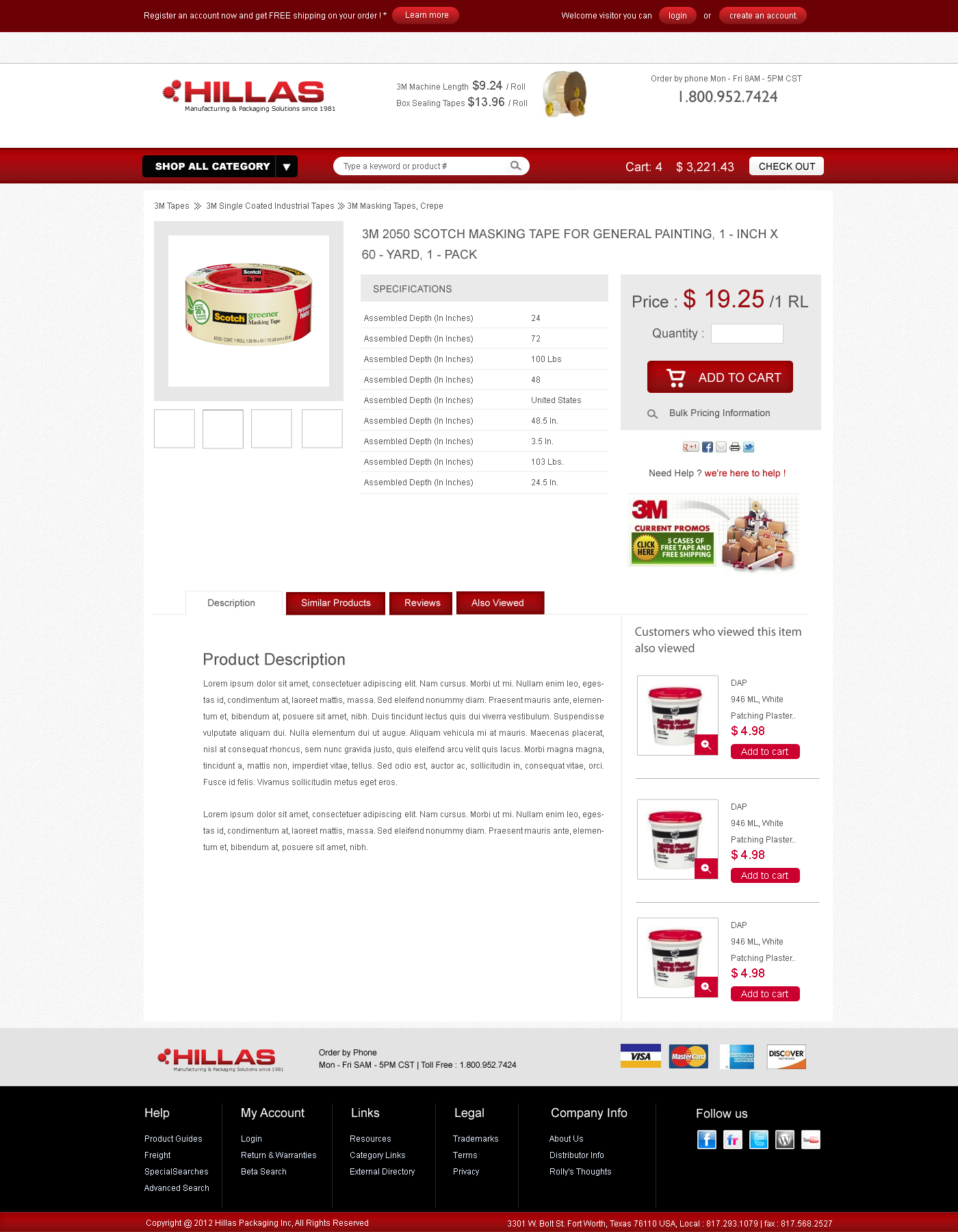 Web Page Design by Private User - Entry No. 19 in the Web Page Design Contest New Web Page Design for Industrial Distributor.