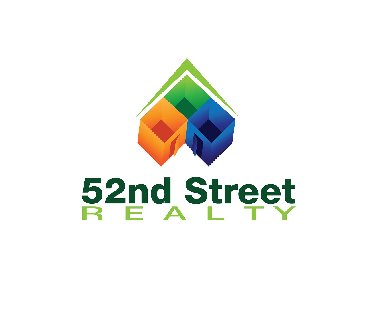 Logo Design by jhunzkie24 - Entry No. 21 in the Logo Design Contest 52nd Street Realty Logo Design.