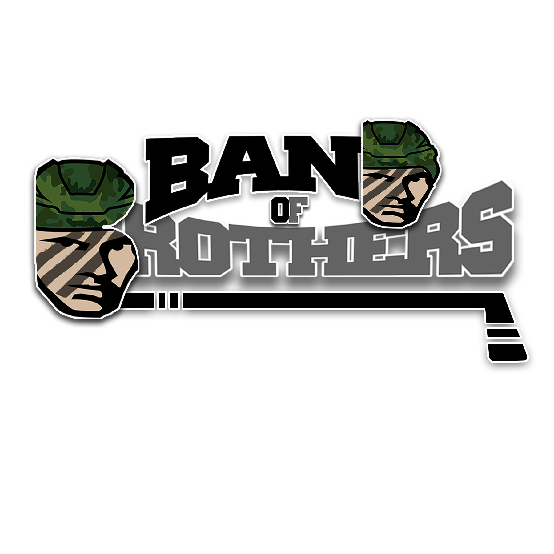 Logo Design by Lemuel Arvin Tanzo - Entry No. 34 in the Logo Design Contest Inspiring Logo Design for Band of Brothers.