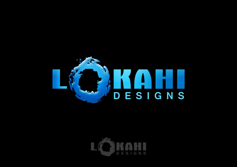Logo Design by Respati Himawan - Entry No. 24 in the Logo Design Contest Unique Logo Design Wanted for Lokahi Designs.
