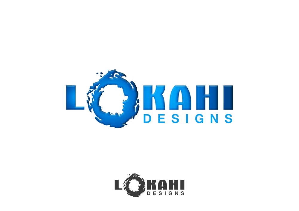 Logo Design by Respati Himawan - Entry No. 26 in the Logo Design Contest Unique Logo Design Wanted for Lokahi Designs.