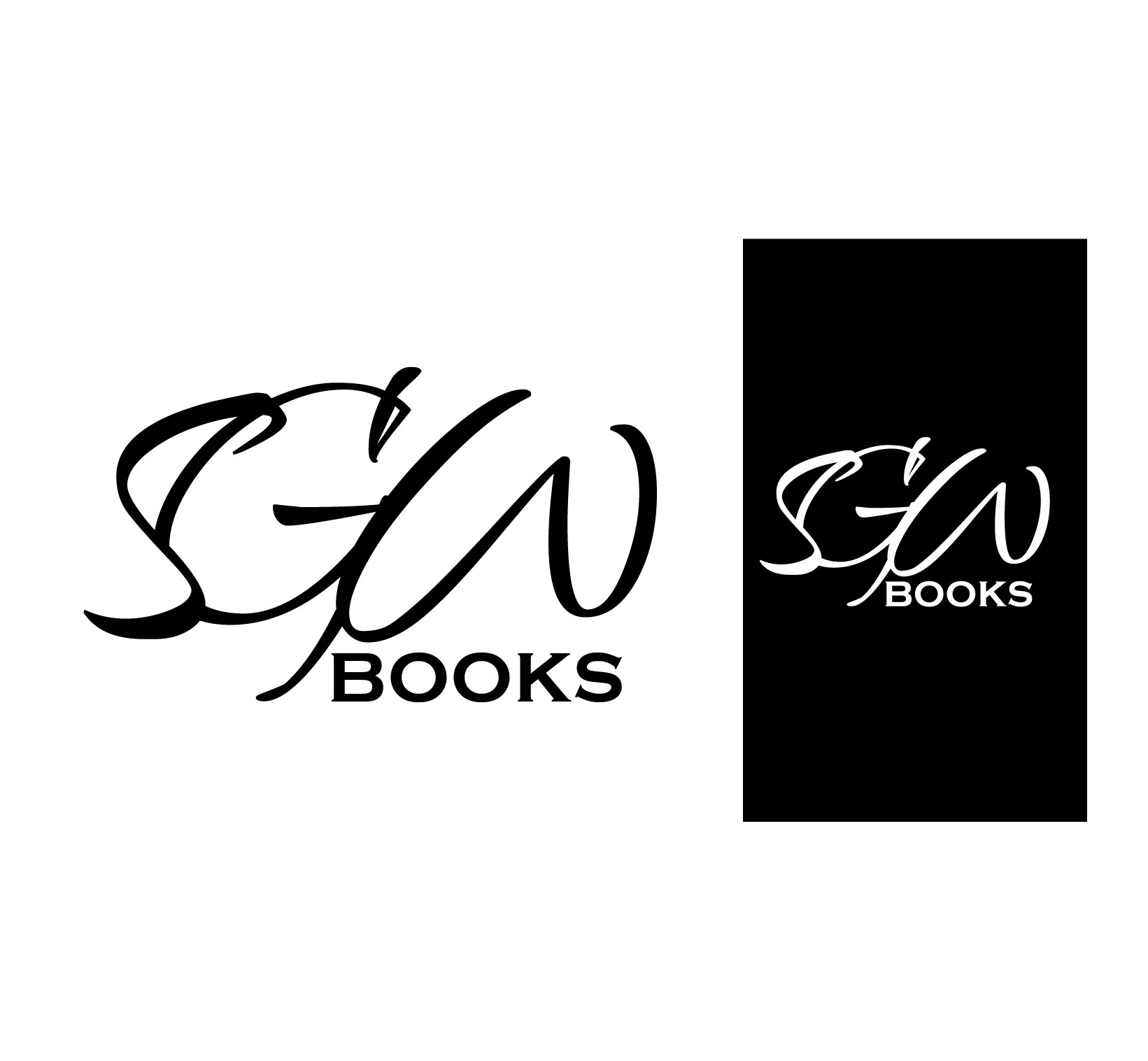 Logo Design by Darina Dimitrova - Entry No. 39 in the Logo Design Contest SGW Books Logo Design.