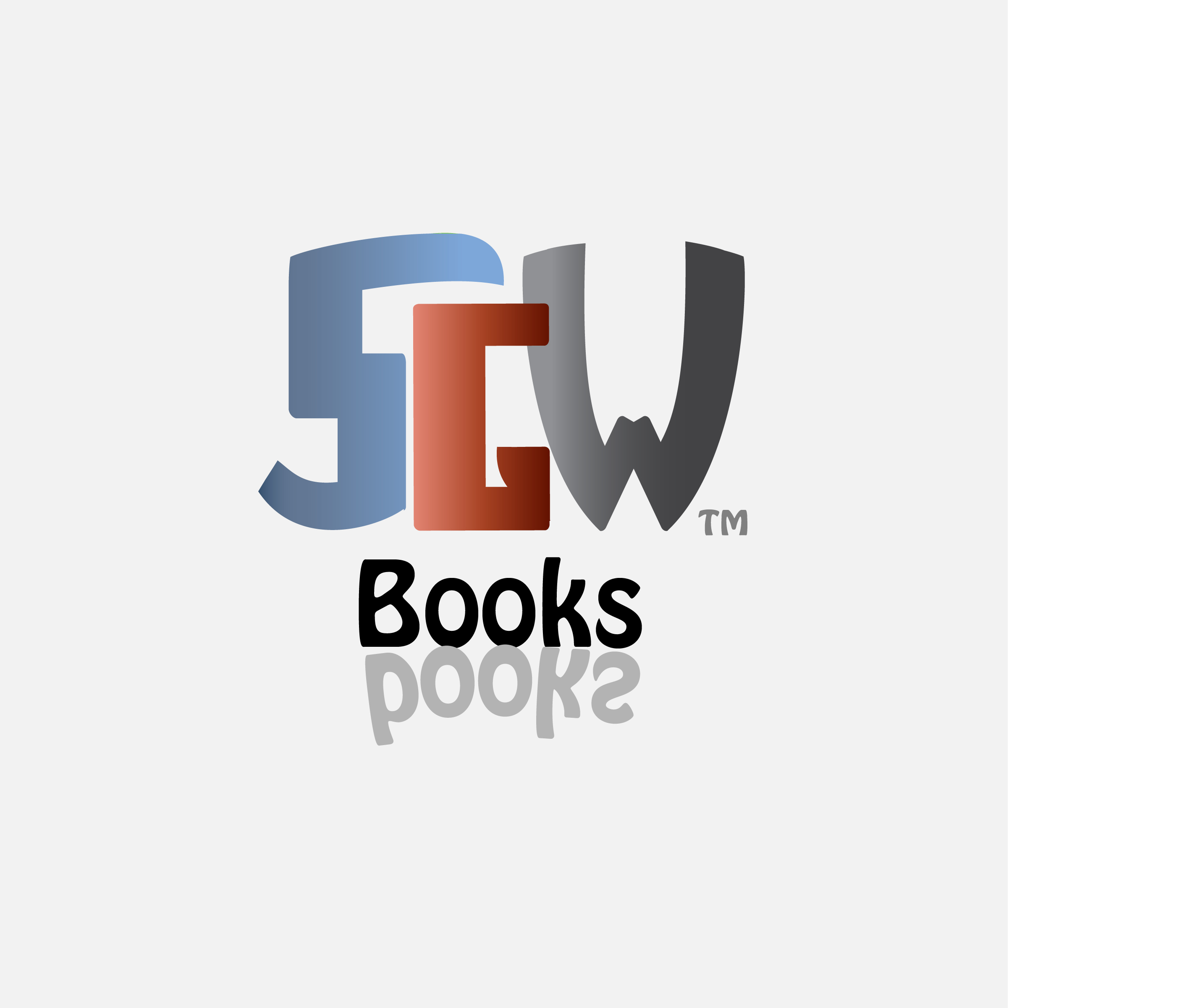 Logo Design by Nancy Grant - Entry No. 41 in the Logo Design Contest SGW Books Logo Design.