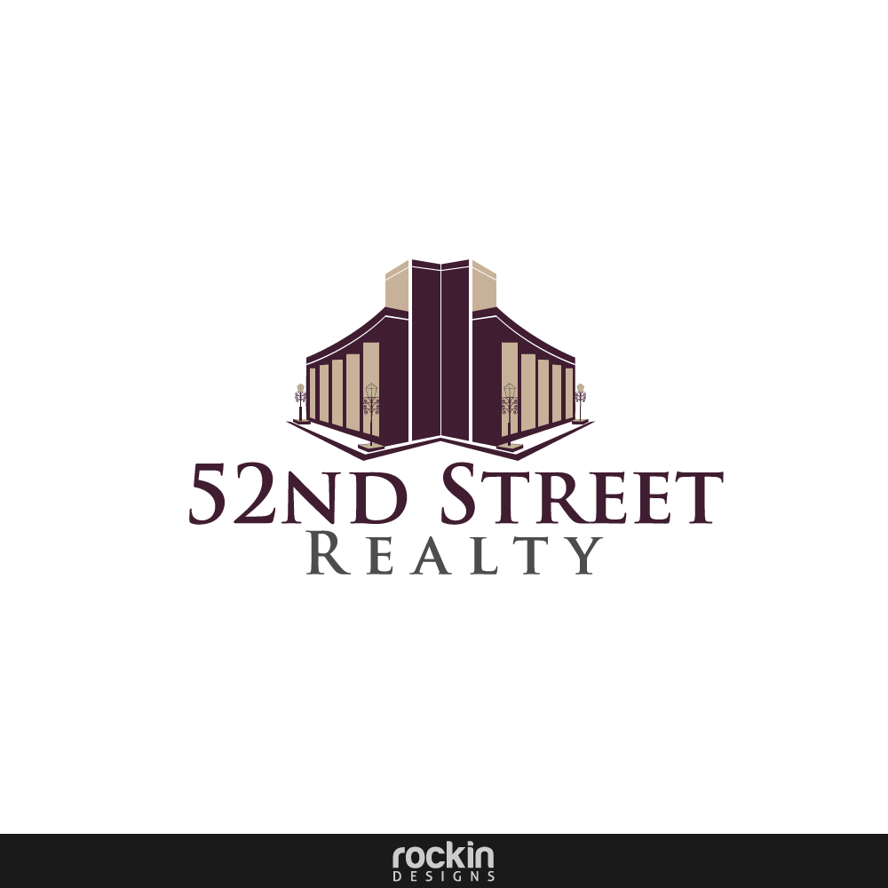 Logo Design by rockin - Entry No. 24 in the Logo Design Contest 52nd Street Realty Logo Design.