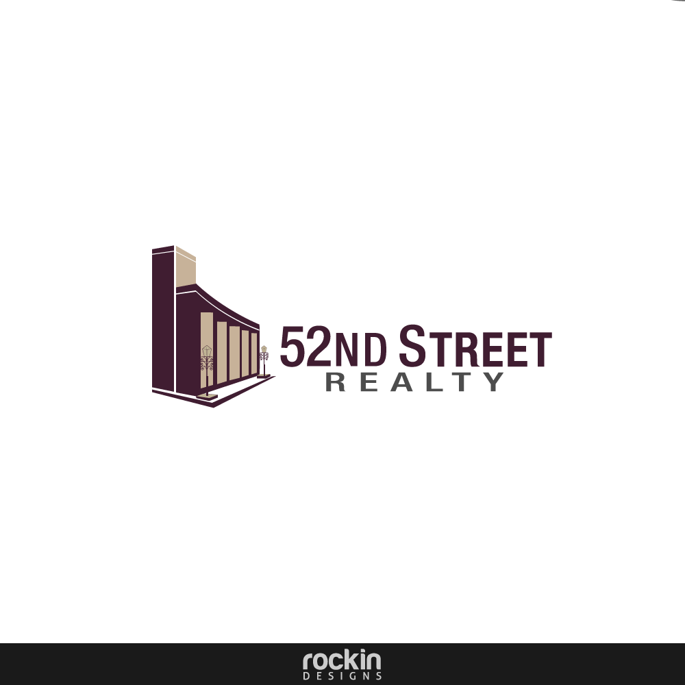 Logo Design by rockin - Entry No. 25 in the Logo Design Contest 52nd Street Realty Logo Design.