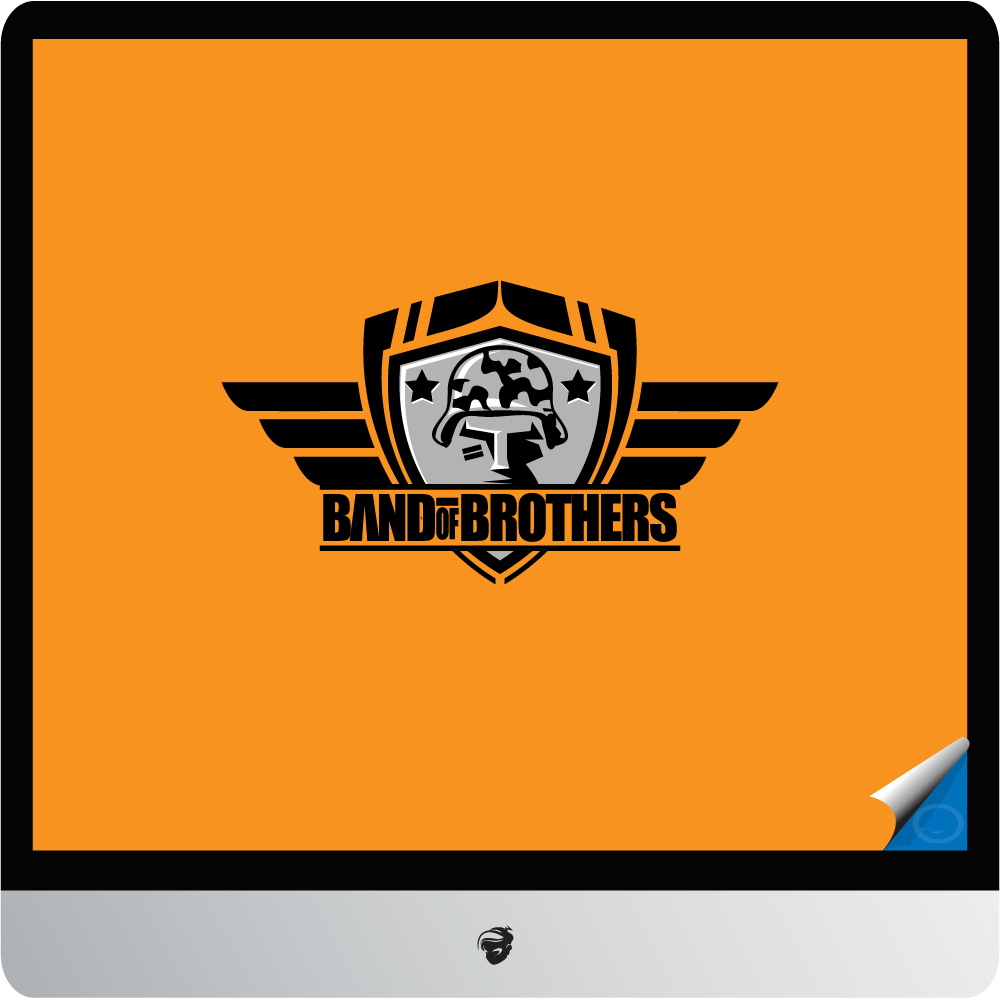 Logo Design by zesthar - Entry No. 39 in the Logo Design Contest Inspiring Logo Design for Band of Brothers.