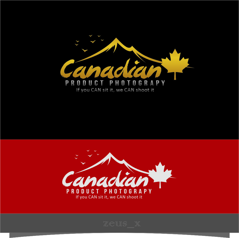 Logo Design by RoSyid Rono-Rene On Java - Entry No. 33 in the Logo Design Contest Artistic Logo Design for Canadian Product Photography.