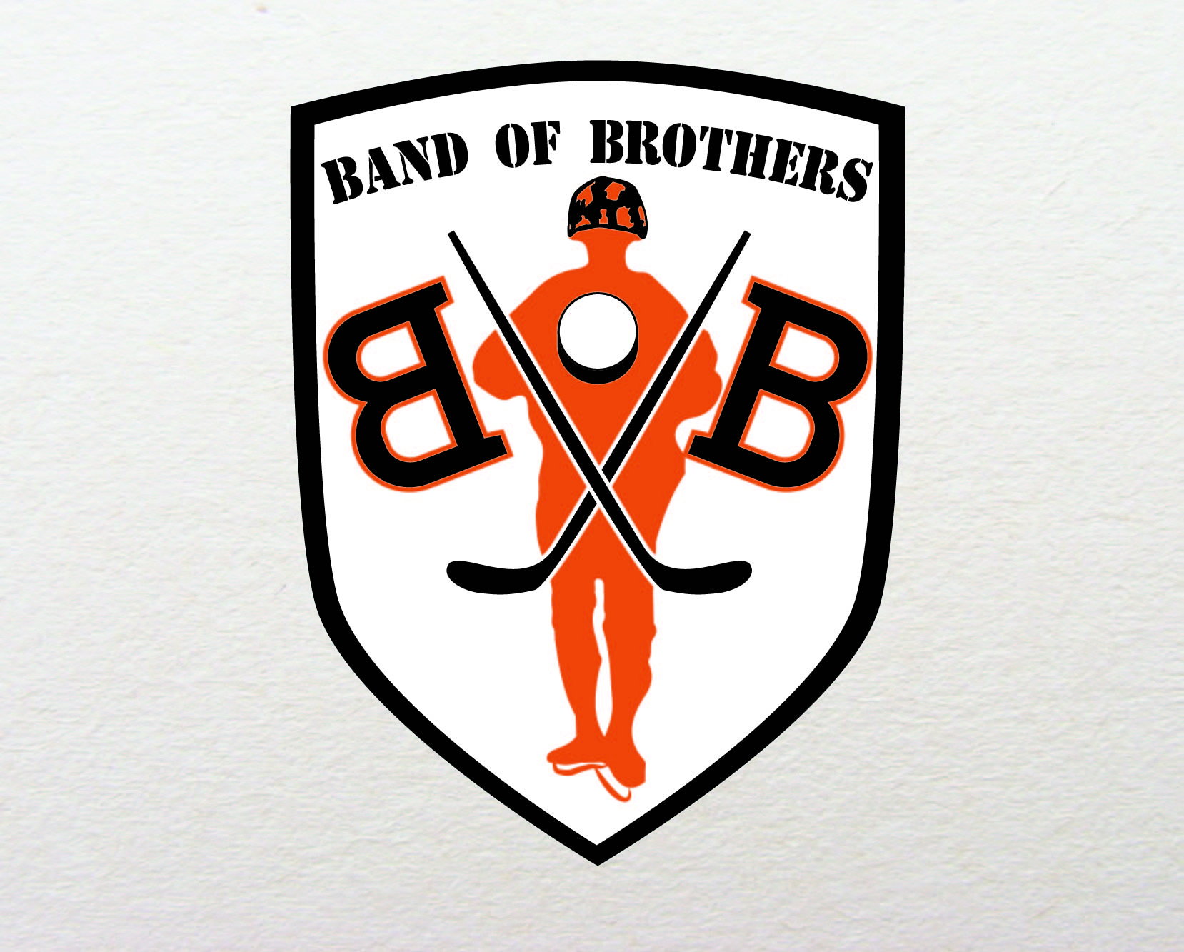 Logo Design by iwyn - Entry No. 40 in the Logo Design Contest Inspiring Logo Design for Band of Brothers.