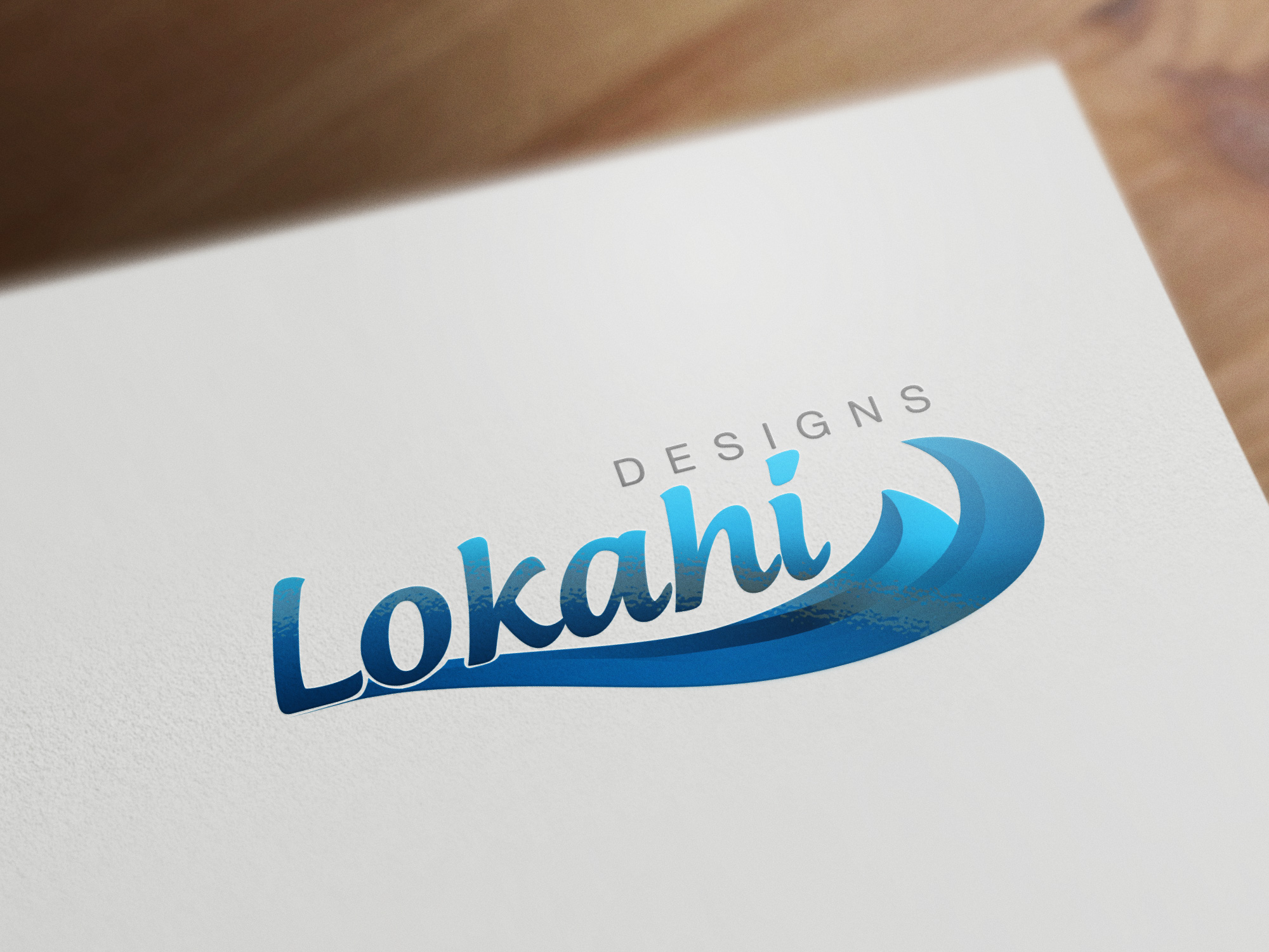 Logo Design by olii - Entry No. 32 in the Logo Design Contest Unique Logo Design Wanted for Lokahi Designs.