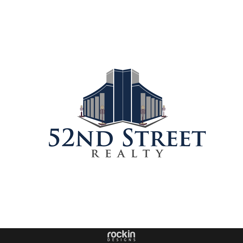 Logo Design by rockin - Entry No. 27 in the Logo Design Contest 52nd Street Realty Logo Design.