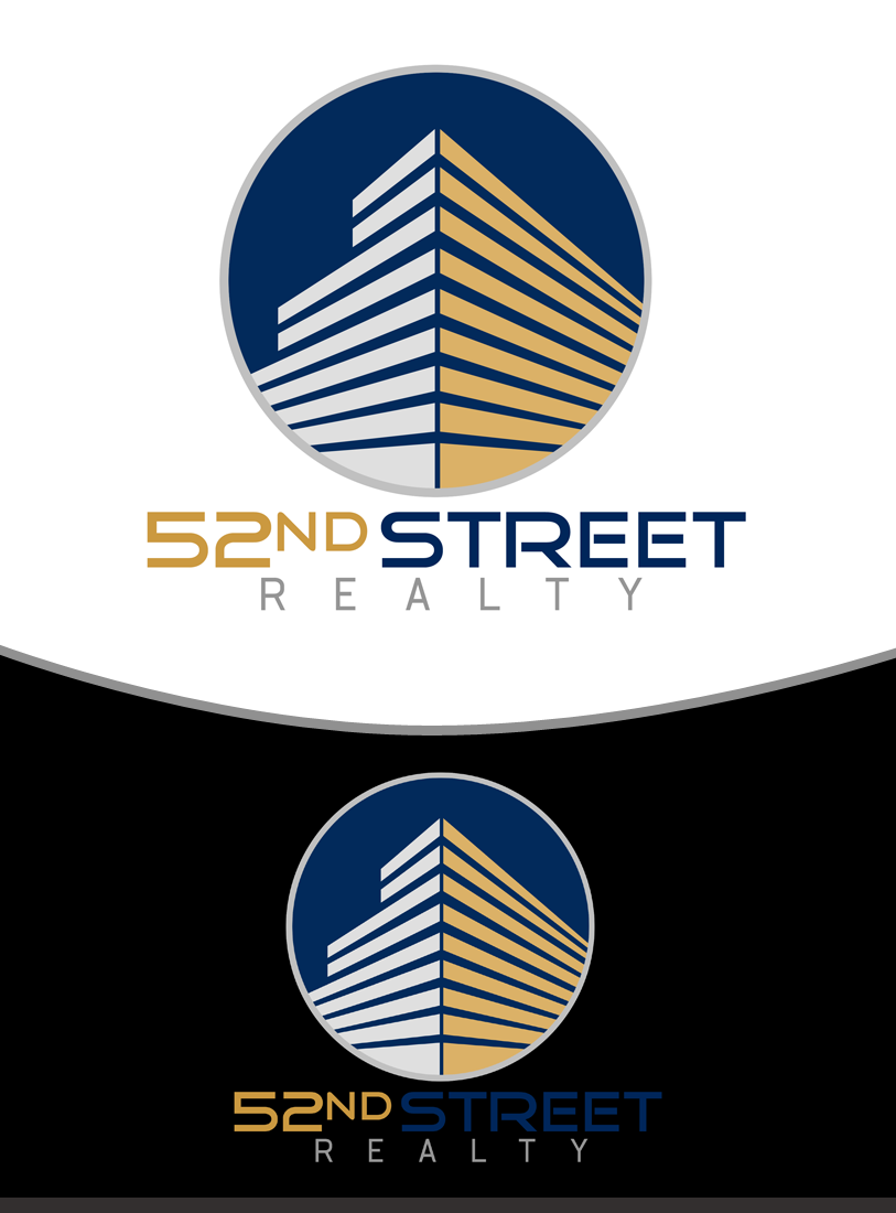 Logo Design by Private User - Entry No. 31 in the Logo Design Contest 52nd Street Realty Logo Design.