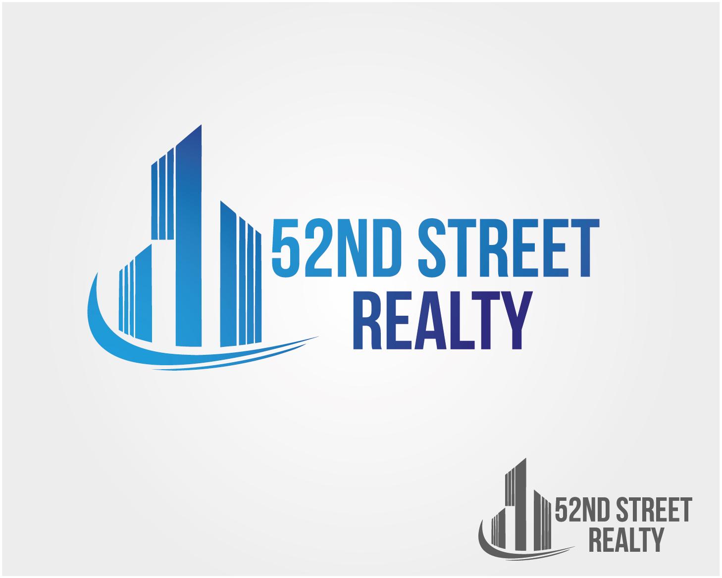 Logo Design by VENTSISLAV KOVACHEV - Entry No. 35 in the Logo Design Contest 52nd Street Realty Logo Design.