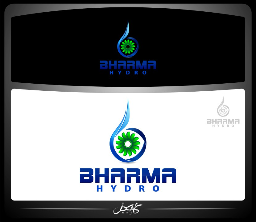 Logo Design by joca - Entry No. 39 in the Logo Design Contest Creative Logo Design for Bharma Hydro.