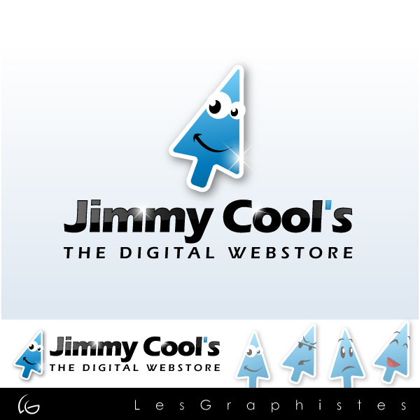 Logo Design by Les-Graphistes - Entry No. 11 in the Logo Design Contest Jimmy Cool's.