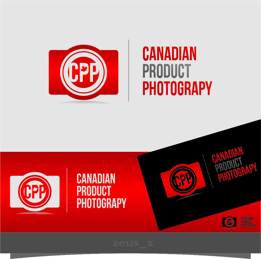 Logo Design by RasYa Muhammad Athaya - Entry No. 40 in the Logo Design Contest Artistic Logo Design for Canadian Product Photography.