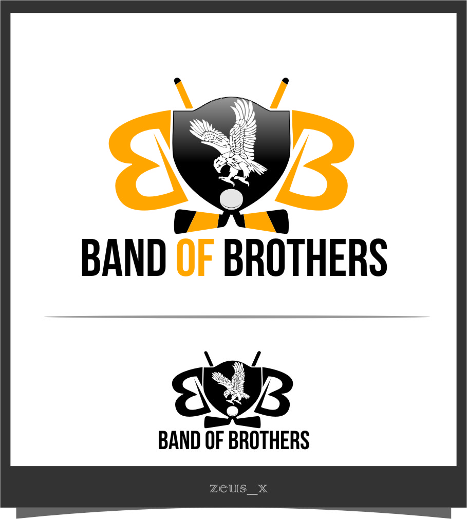 Logo Design by Ngepet_art - Entry No. 53 in the Logo Design Contest Inspiring Logo Design for Band of Brothers.
